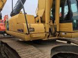 Máquina escavadora hidráulica usada 1.5cbm/24ton da esteira rolante da Amarelo-Pintura AC/Sleeper-Attached Japão KOMATSU PC240-8