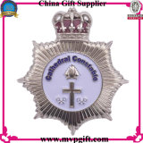 Messing/kupferne Polizei Badge für Metallpin-Abzeichen