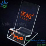 Freier transparenter Acrylausstellungsstand-Halter für Handy-Einzelverkaufs-Ausstellung