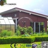 Prix d'usine de plastique étanche extérieur en bois composite de panneaux muraux décoratifs (TH-10)