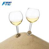 """Intero vetro di vino su ordinazione della spiaggia 350ml del vetro """"float"""""""