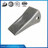 Высокое качество круглый стальной поддельных/формирование зубья ковша экскаватора для механизма