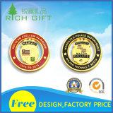Kundenspezifische weiche Herausforderungs-Münze der Decklack-Qualitäts3d für Firma