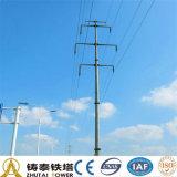 25m elektrischer ineinanderschiebender Stahlpole für Kraftübertragung