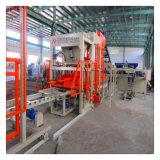 Bloco concreto automático do cimento que faz a máquina