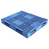 4 Möglichkeits-Eintrag, der doppelte Plattform-Plastikladeplatte für Speicherung stapelt