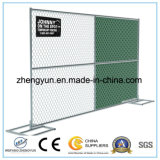 Sitio temporal portable galvanizado sumergido caliente de la seguridad de la conexión de cadena de la construcción que cerca los paneles (fabricante)