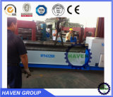 X11-16W2000 3 High Roller quanlity placa hidráulica Máquina laminadora de flexión