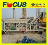 Mobiele Concrete het Groeperen gemakkelijke van het Vervoer Yhzs35 (35m3) Installatie
