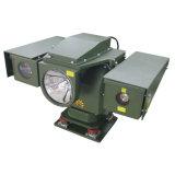 La policía del estándar militar patrulla la cámara montada vehículo del infrarrojo del laser