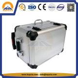 Grande boîte à outils en aluminium dur pour transport avec roues