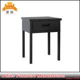 Tavolino da notte d'acciaio del nero caldo di vendita