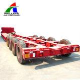 Novo iate de barco de transporte do veículo Lowbed semi reboque do veículo