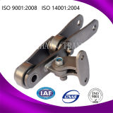 Offset Link Bagasse Carrier Sugar Mill Roller Conveyor Chain para transmissão 2184 1796