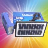 Портативная домашняя осветительная установка силы энергии панели солнечных батарей