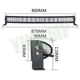 CREE 164W 30pulgadas fila híbrida de la barra de luz LED para la carretilla