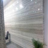 床または壁のタイルのための磨かれた自然な水晶木の大理石の平板