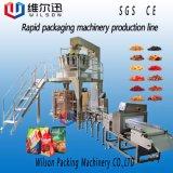 Máquina de empacotamento automática secada do alimento da massa do estilo