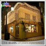 Schönes Dekor-Weihnachtslicht-Vorhang-Licht für Gebäude