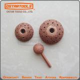 La bava della sfera della rotella di lucidatura del carburo ha coperto con una cupola la raspa di profilo per la molatura della gomma
