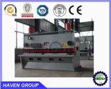 Corte hidráulico da guilhotina de QC11Y-12X3200 E21S e máquina de estaca da placa de aço