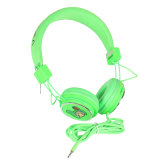 Fabricante Atacado Best High Quality Over Ear Wired Stereo MP3 Headset Headphone