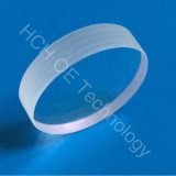 25,4mm de diámetro, 1.3mmthick la lente de zafiro de China