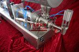 La salsa della Singolo-Testa semiautomatica/inserimento del fagiolo/burro di arachide spessi Inserimento-Hanno mescolato la macchina di rifornimento (tipo orizzontale) 100-1000ml