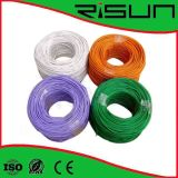 0,56mm Pure Copper Black Color UTP CAT6 Outdoor