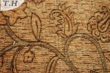 Nueva tela del poliester del sofá de África con la capa