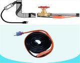 動物飼育の寒い気候弁の管の暖房ケーブルテープサーモスタットを搭載する電気暖房ケーブル