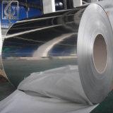 Le PVC argenté de miroir a enduit la bobine de dépliement de l'acier inoxydable 304