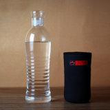 Bottiglia di acqua di vetro portatile bevente della bottiglia di corsa di vetro portatile della tazza