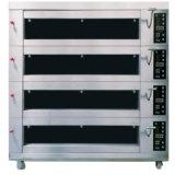3 Oven van de Toost Hotplate van de Deur van het Glas van het dek de Dubbele Elektrische
