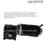 motor de la puerta de vidrio de desplazamiento de la puerta doble de la C.C. de 24V 100W