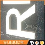 使用された電子印、アクリルの小型LEDの経路識別文字