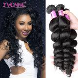 tessuto riccio a spirale dei capelli umani di 5A 100%, capelli dei Peruvian del Virgin