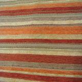 Heller Farbstreifen-Entwurf für Kissen und Sofa