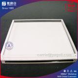 高品質の白く及び明確な正方形のアクリルの皿