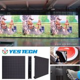 단계 광고를 위한 풀 컬러 P2.84 영상 벽 LED 스크린