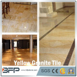 Yellow incluso Granite Floor Tile con Popular Use per Polished Surface