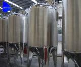 Tank van de Druk van het roestvrij staal de Beweegbare met de Dekking van het Mangat