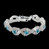 Luxuxkristallarmbänder für Frauen-silbernes Farben-Armband