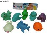 아이를 위한 물분사 목욕 장난감의 연약한 PVC 장난감