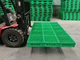 A Emenda de comprimento de paletes de plástico durável 3o dosador para armazenamento de armazém