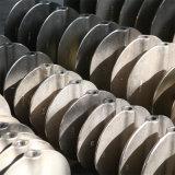 Van een flens voorzien metaal-Zetel Vleugelklep