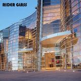 Поставщик здания Китая подкрашиванный/ясный стеклянный материальный