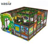 Grand parc de loisirs de l'équipement de terrain de jeux intérieur, enfants Naughty Château