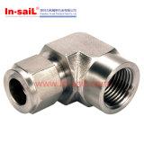 Raccord de tuyau de haute qualité du matériel en acier au carbone pour le gaz
