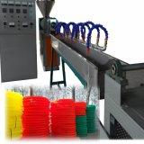 Tuyau d'eau en PVC extrudé en plastique de la ligne de production de la machine de l'extrudeuse
